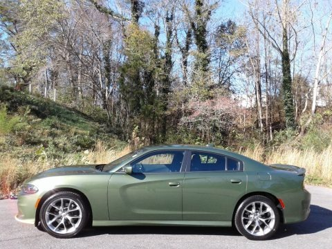 F8 Green 2020 Dodge Charger GT