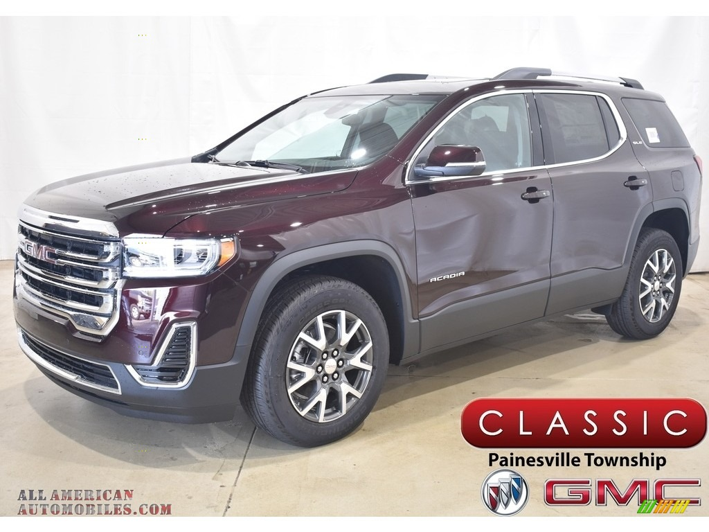2021 Acadia SLE AWD - Red Mahogany Metallic / Jet Black photo #1