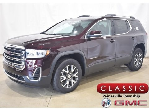 Red Mahogany Metallic 2021 GMC Acadia SLE AWD
