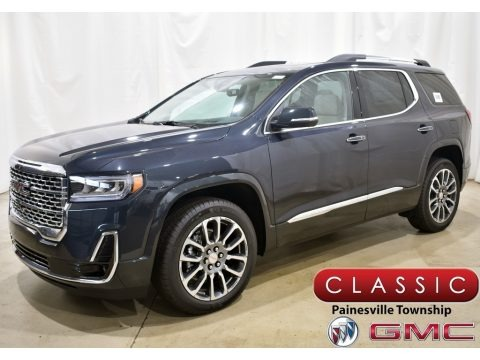 Hunter Metallic 2021 GMC Acadia Denali AWD