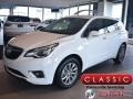 Buick Envision Essence AWD Summit White photo #1