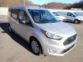 Ford Transit Connect XLT Passenger Wagon Silver Metallic photo #3