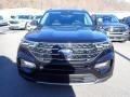 Ford Explorer XLT 4WD Agate Black Metallic photo #4