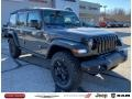 Jeep Wrangler Unlimited Sport Altitude 4x4 Sting-Gray photo #1
