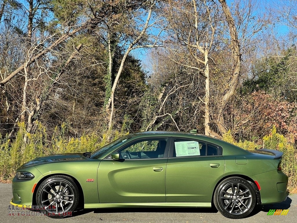 2020 Charger R/T Scat Pack - F8 Green / Black photo #1
