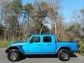 Jeep Gladiator Rubicon 4x4 Hydro Blue Pearl photo #1