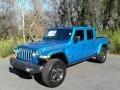 Jeep Gladiator Rubicon 4x4 Hydro Blue Pearl photo #2