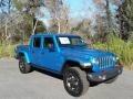 Jeep Gladiator Rubicon 4x4 Hydro Blue Pearl photo #4