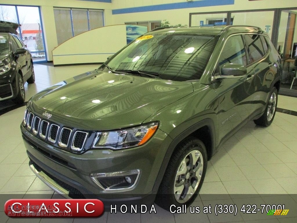 2020 Compass Limted 4x4 - Olive Green Pearl / Black photo #1