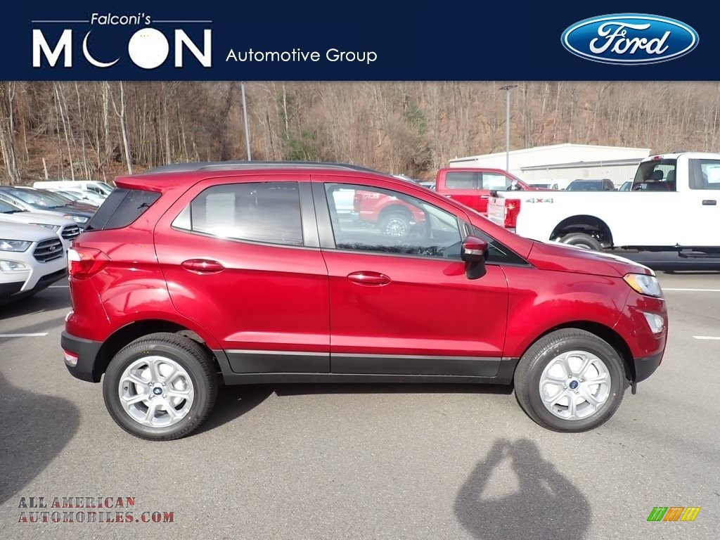 2020 EcoSport SE 4WD - Ruby Red Metallic / Ebony Black photo #1