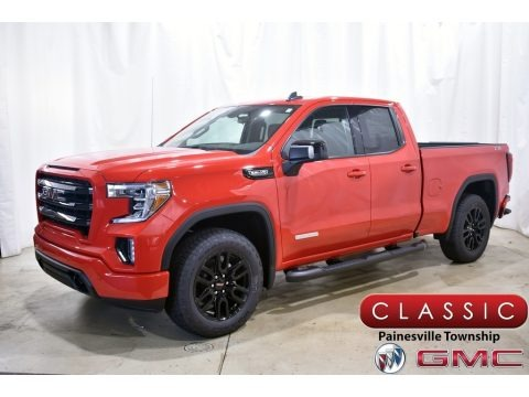 Cardinal Red 2021 GMC Sierra 1500 Elevation Double Cab 4WD