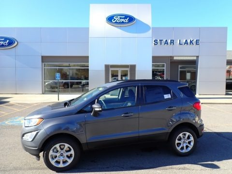 Smoke Metallic 2020 Ford EcoSport SE 4WD