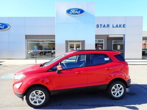 Race Red 2020 Ford EcoSport SE 4WD