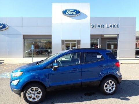 Lightning Blue Metallic 2020 Ford EcoSport SE