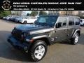 Jeep Wrangler Unlimited Sport 4x4 Granite Crystal Metallic photo #1