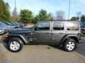 Jeep Wrangler Unlimited Sport 4x4 Granite Crystal Metallic photo #9
