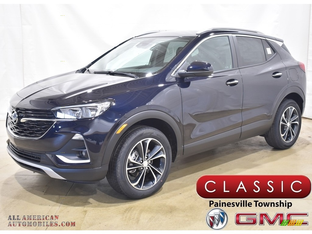 2021 Encore GX Select AWD - Dark Moon Blue Metallic / Ebony photo #1