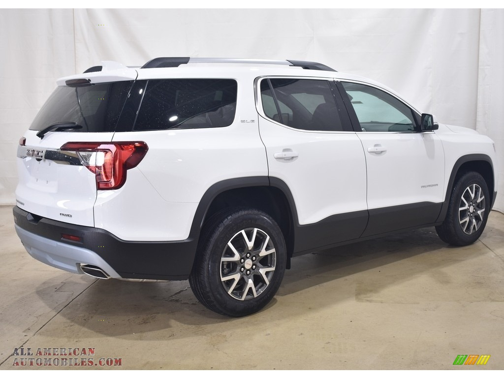 2021 Acadia SLE AWD - Summit White / Jet Black photo #2
