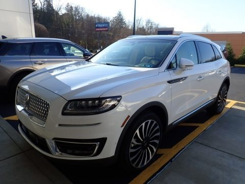 Pristine White 2020 Lincoln Nautilus Black Label AWD