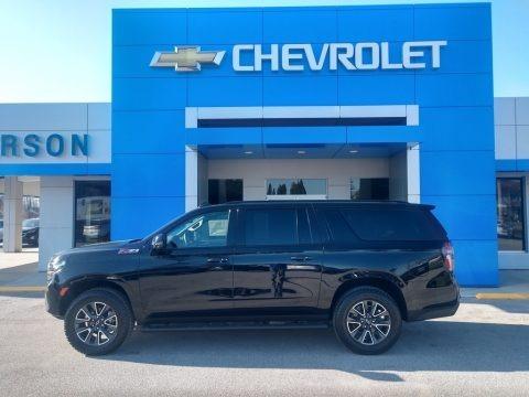 Black 2021 Chevrolet Suburban Z71 4WD