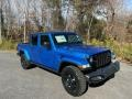 Jeep Gladiator Willys 4x4 Hydro Blue Pearl photo #4