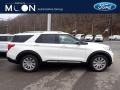 Ford Explorer Limited 4WD Star White Metallic Tri-Coat photo #1