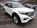 Ford Explorer Limited 4WD Star White Metallic Tri-Coat photo #3