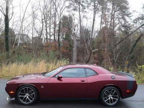 Octane Red Pearl 2018 Dodge Challenger R/T Scat Pack