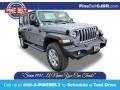 Jeep Wrangler Unlimited Sport 4x4 Billet Silver Metallic photo #1