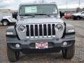 Jeep Wrangler Unlimited Sport 4x4 Billet Silver Metallic photo #3