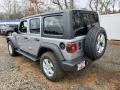 Jeep Wrangler Unlimited Sport 4x4 Billet Silver Metallic photo #6