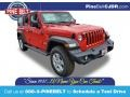 Jeep Wrangler Unlimited Sport 4x4 Firecracker Red photo #1
