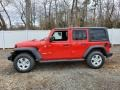 Jeep Wrangler Unlimited Sport 4x4 Firecracker Red photo #4