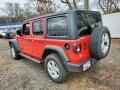 Jeep Wrangler Unlimited Sport 4x4 Firecracker Red photo #6