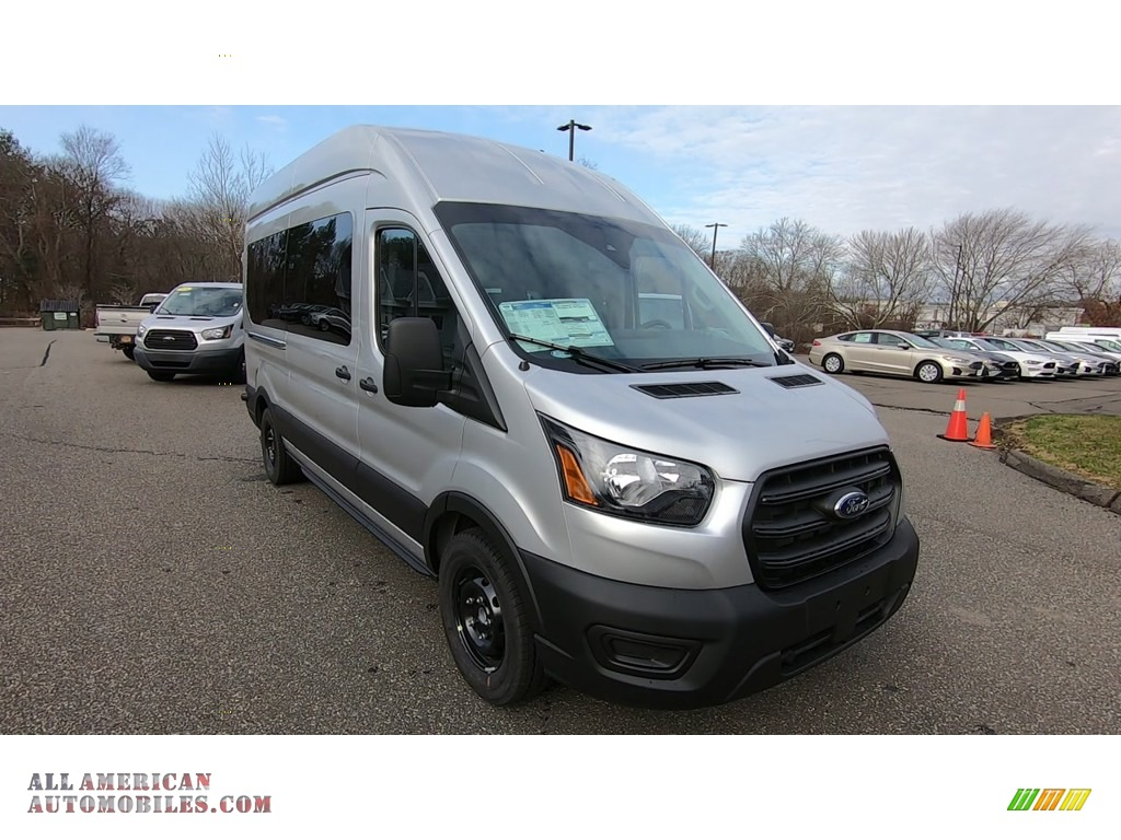 2020 Transit Passenger Wagon XL 350 HR Extended - Ingot Silver / Ebony photo #1