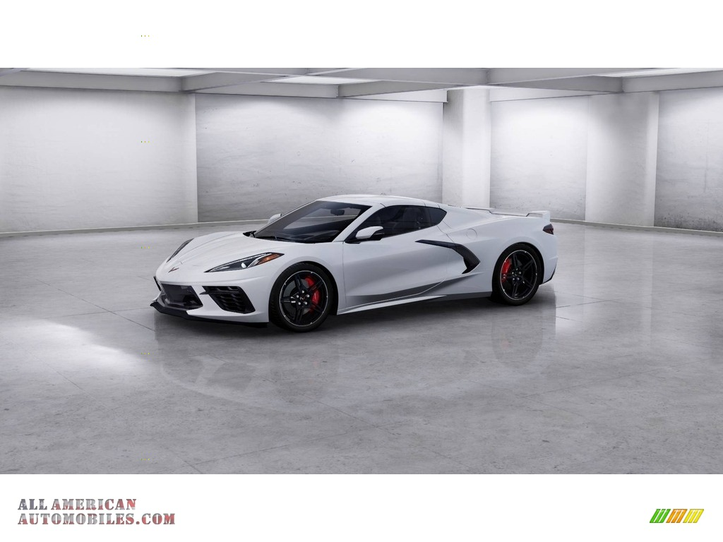 2020 Corvette Stingray Coupe - Arctic White / Jet Black photo #1