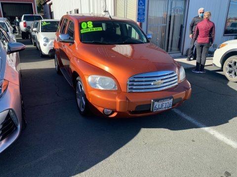 Sunburst Orange II Metallic 2008 Chevrolet HHR LT