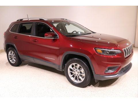 Velvet Red Pearl 2020 Jeep Cherokee Latitude Plus 4x4