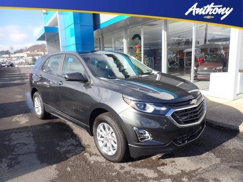 Nightfall Gray Metallic 2021 Chevrolet Equinox LS AWD
