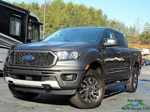 Magnetic 2020 Ford Ranger XLT SuperCrew 4x4