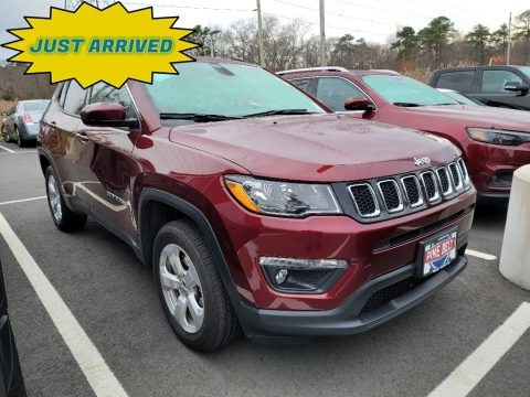 Velvet Red Pearl 2020 Jeep Compass Latitude 4x4