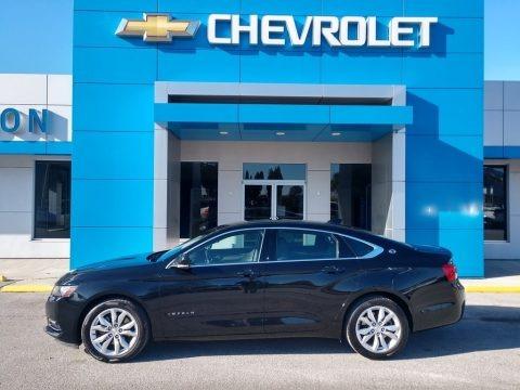 Black 2020 Chevrolet Impala LT