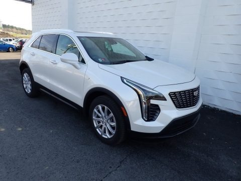 Crystal White Tricoat 2021 Cadillac XT4 Luxury AWD