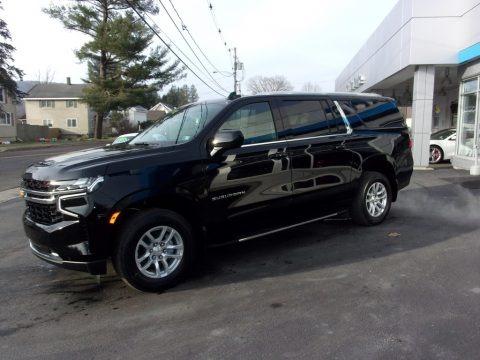 Black 2021 Chevrolet Suburban LS 4WD