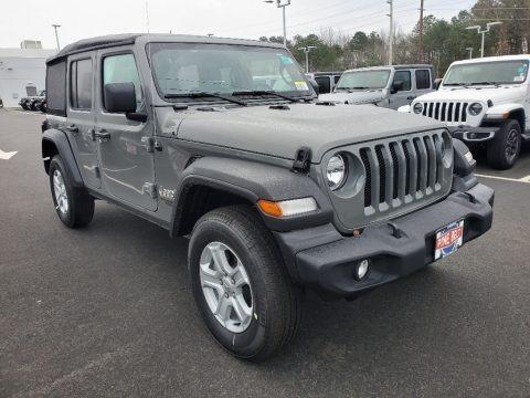 Sting-Gray 2021 Jeep Wrangler Sport 4x4