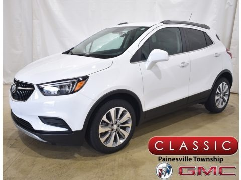 Summit White 2021 Buick Encore Preferred