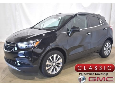 Ebony Twilight Metallic 2021 Buick Encore Preferred
