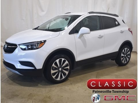 Summit White 2021 Buick Encore Preferred AWD