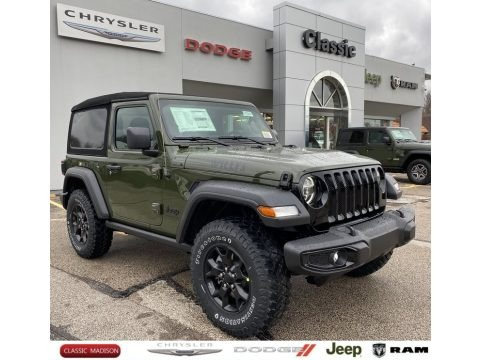 Sarge Green 2021 Jeep Wrangler Sport 4x4