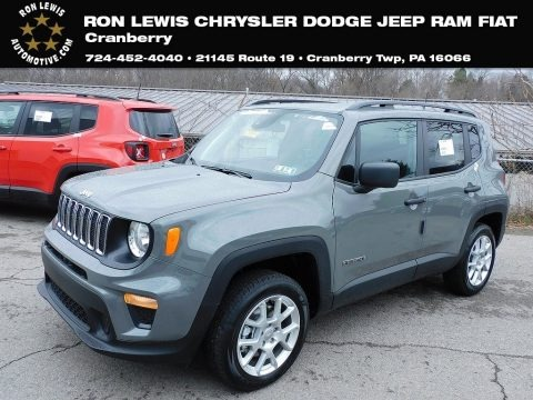 Sting-Gray 2021 Jeep Renegade Sport 4x4